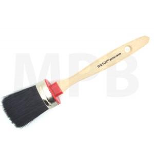 The Fox Chalk & Wax Black Bristle Brush Small