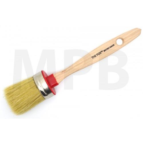 The Fox Chalk & Wax White Bristle Brush Small