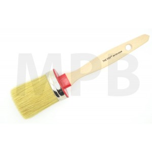 The Fox Chalk & Wax White Bristle Brush Extra Large
