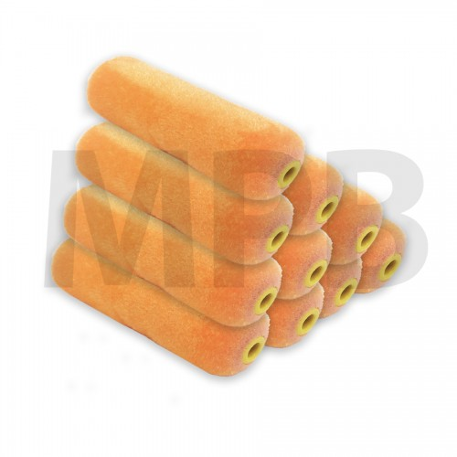 The Fox Mini Velvet Rollers Pack Of 10
