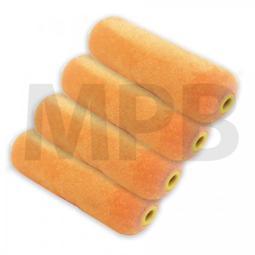 The Fox Mini Velvet Rollers Pack Of 4