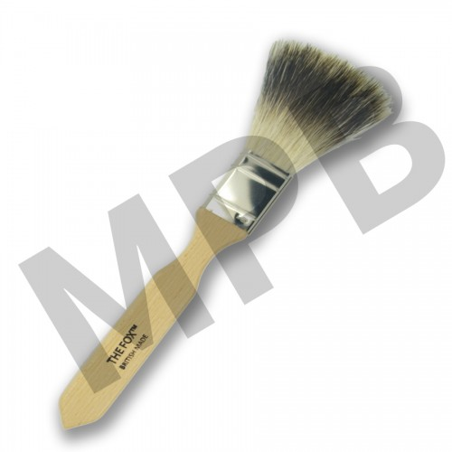 "The Fox 1.5"" Thin Pure Badger Softner"