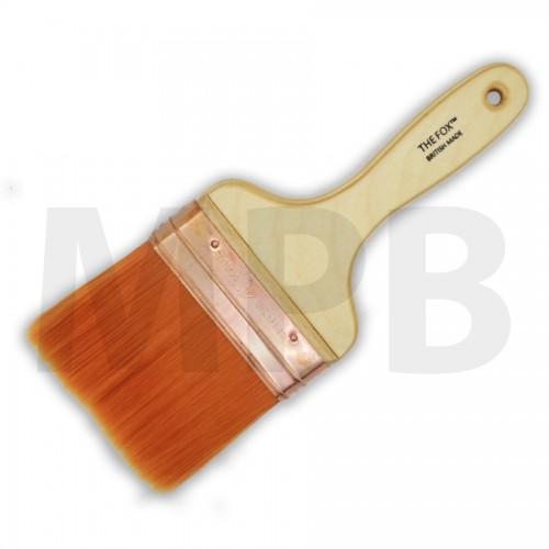 "The Fox Original Copper Bound 4"" Wall Brush"