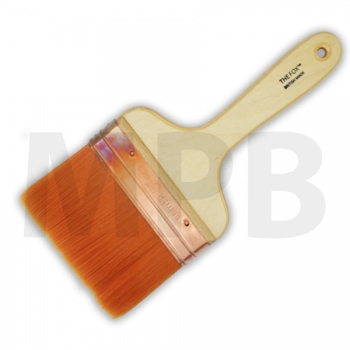 "The Fox Original Copper Bound 5"" Wall Brush"