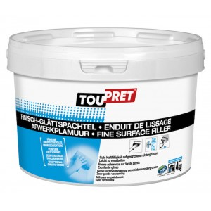 Toupret Fine Surface Filler 4kg