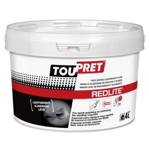 Toupret Redlite Fast Drying Lightweight Filler 4L