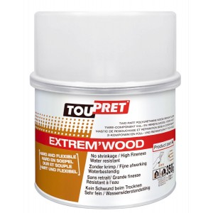 Toupret Extrem'Wood Two Part Filler 350g
