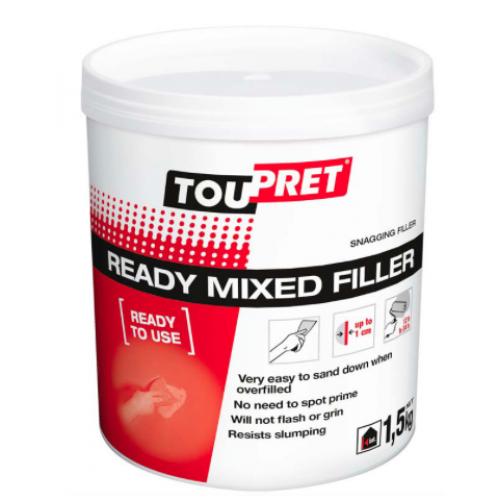Toupret Ready Mixed Filler 1.5kg