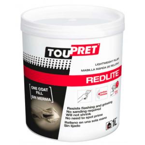Toupret Redlite Fast Drying Lightweight Filler 1l