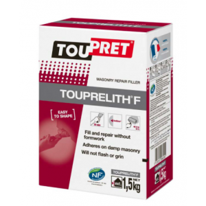 Toupret Touprelith F Repair Surface Filler 1.5kg