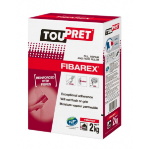 Toupret Fibarex Fill, Repair & Face Filler 2kg