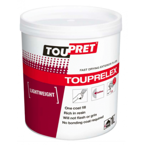 Toupret Touprelex Exterior Filler 1L