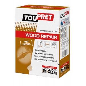 Toupret Wood Repair Filler 2kg