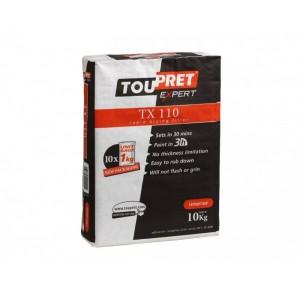 Toupret TX 110 Rapid Drying Filler 10 x 1kg