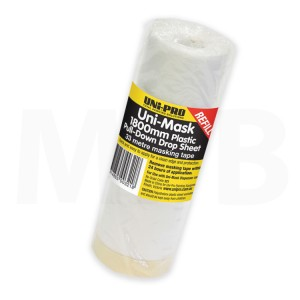Uni-Pro Masking Film & Tape 1800mm x 33m