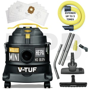 V-TUF M Class Mini Dust Extractor 240v Decorators Pack