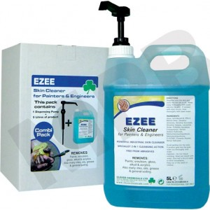 Ezee Skin Cleaner & Conditioner For Painters 5L Combo Pack