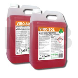 Viro-Sol Citrus Based Cleaner & Degreaser 5L Twin Pack