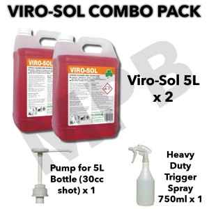 Viro-Sol Citrus Based Cleaner & Degreaser Combo Pack