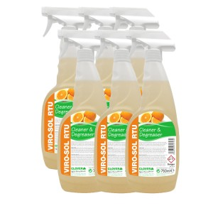 Viro-Sol Citrus Based Cleaner & Degreaser Ready To Use 6 x 750ml