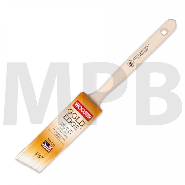 Wooster Gold Edge Thin Angle Sash Paint Brush