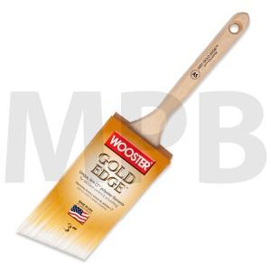 "Wooster Gold Edge 3"" Angle Sash"