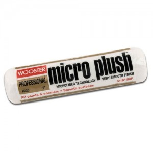 "Wooster Micro Plush 9"" Roller Sleeve 5/16"" Nap"