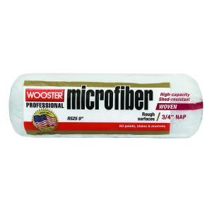 "Wooster 9"" Microfiber 3/4"" Nap"