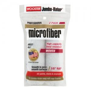 "Wooster Jumbo Koter Microfiber 4.5"" Mini Rollers Twin Pack"