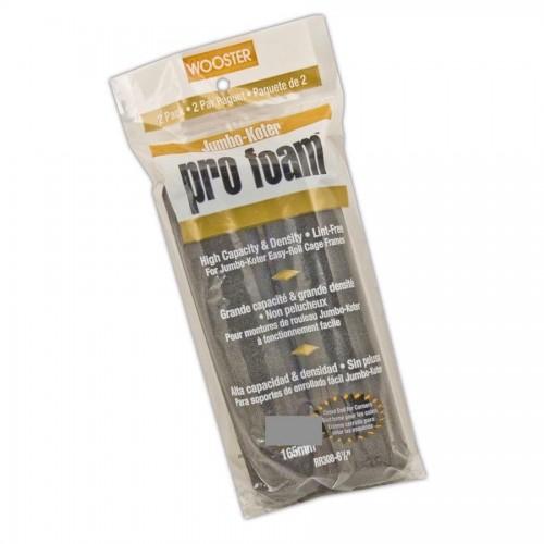 """Wooster Jumbo Koter Pro Foam 4.5"""" Mini Rollers Twin Pack"""