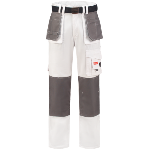 WorkMan 1084 Classic Worker Trouser White/Grey
