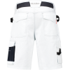 WorkMan 2003 D-Sign Bermuda Shorts White/Navy