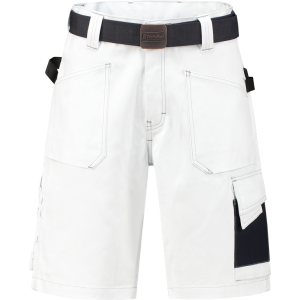 WorkMan 2003 D-Sign Bermuda Shorts White/Navy