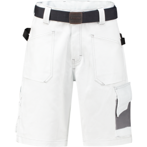 WorkMan 2083 D-Sign Bermuda Shorts White/Grey