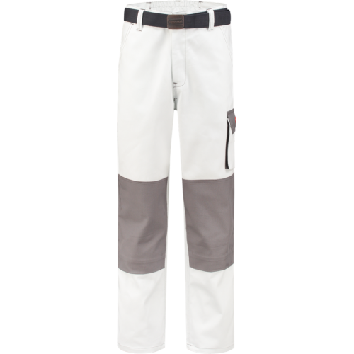 WorkMan 2084 Classic Trouser White/Grey