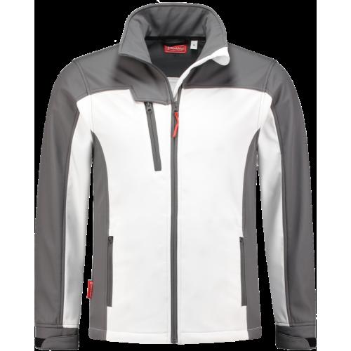 WorkMan 2508 Summer Softshell Jacket White/Grey