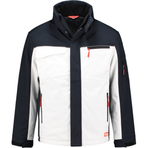 WorkMan 2511 Winter Softshell Jacket White/Navy