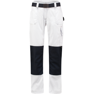 WorkWoman 8004 D-Sign Worker Ladies Trouser White/Navy