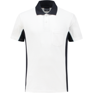 WorkMan 1401 Poloshirt White/Navy