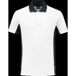 WorkMan 1401 Poloshirt White/Navy