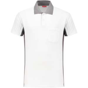 WorkMan 1408 Poloshirt White/Grey