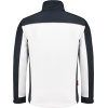 WorkWoman 2501 Ladies Softshell Jacket White/Navy