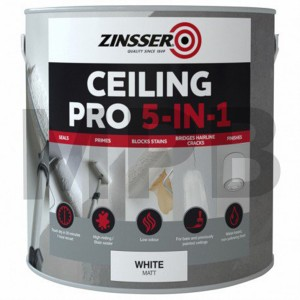 Zinsser Ceiling Pro 5 in 1 2.5LTR