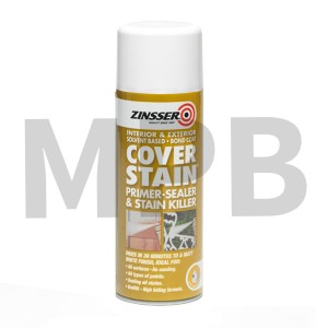 Zinsser Cover Stain Aerosol 400ml