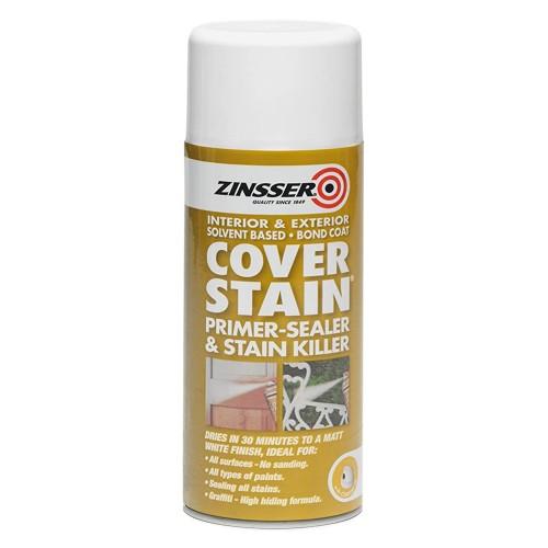 Zinsser Cover Stain Aerosol 400ml