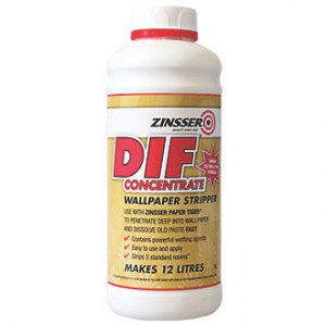 Zinsser DIF Liquid Concentrate Wallpaper Stripper 1L
