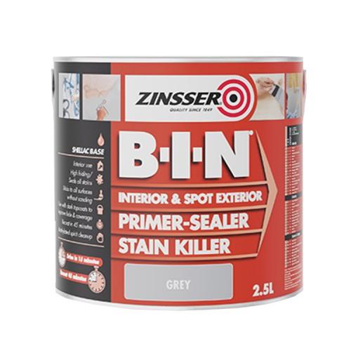 Zinsser B-I-N Primer Grey