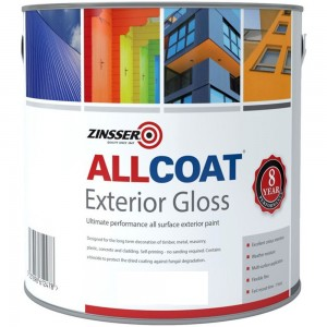 Zinsser Allcoat Exterior Gloss White
