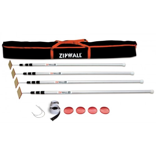 ZipWall 12 4 Pack 3.6m (SLP4)