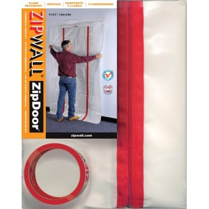 ZipWall ZipDoor Commercial Door Kit (ZDC)